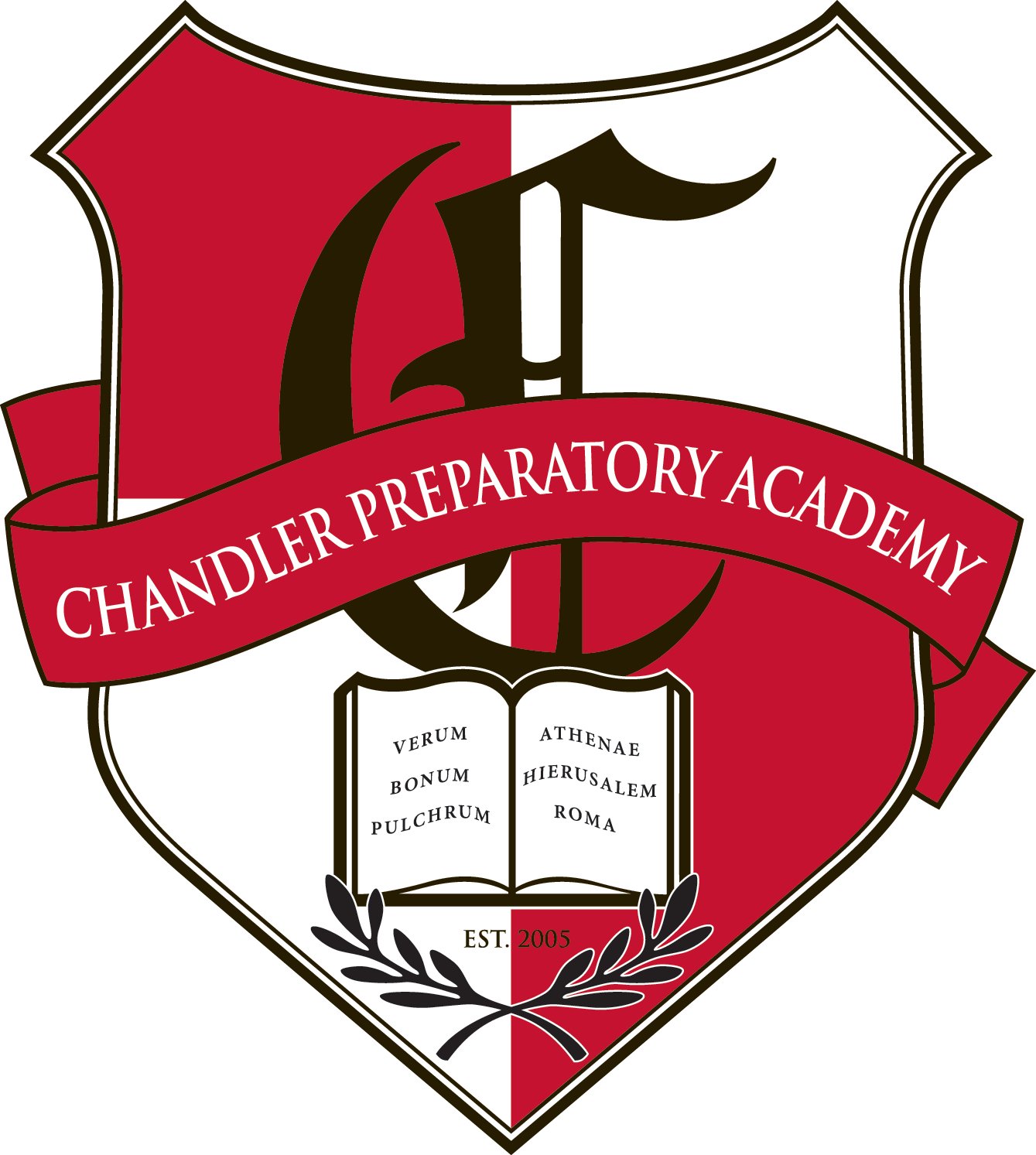 Great Hearts Chandler Prep, Serving Grades 6-12 School Crest